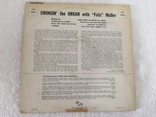"Load image into Gallery viewer, Fats Waller ‎– Swingin' The Organ With ""Fats"" Waller, 10"" Vinyl LP, RCA Victor ‎– LPT 3040, 1953, USA"