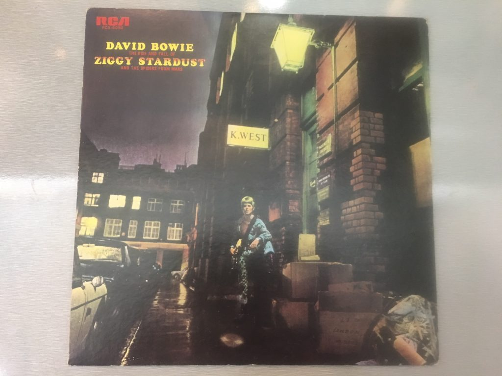 David Bowie ‎– The Rise And Fall Of Ziggy Stardust And The Spiders From Mars, Japan Press Vinyl LP, RCA ‎– RCA - 6050, 1973, no OBI