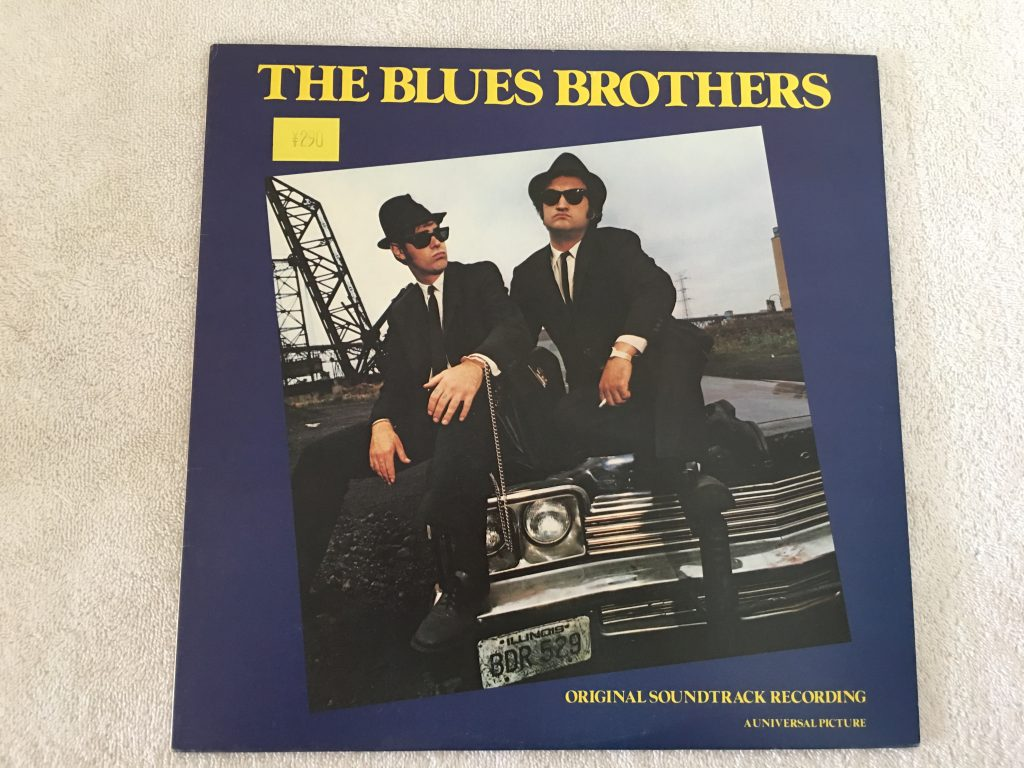 Blues Brothers ‎– The Blues Brothers (Original Soundtrack Recording), Japan Press Vinyl LP, Atlantic ‎– P-10853A, 1980, no OBI