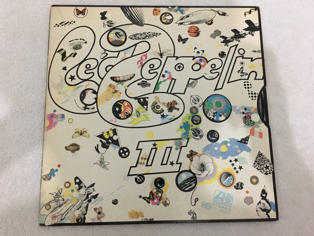 Led Zeppelin ‎– Led Zeppelin III, Japan Press Vinyl LP, Atlantic ‎– MT-2043, 1970, no OBI