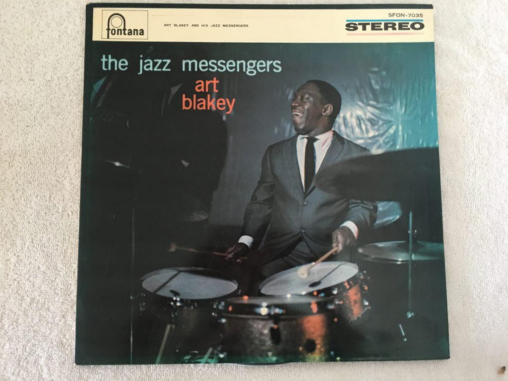 Art Blakey & The Jazz Messengers ‎– The Jazz Messengers, Japan Press Vinyl LP,  Fontana ‎– SFON-7035, 1964, no OBI