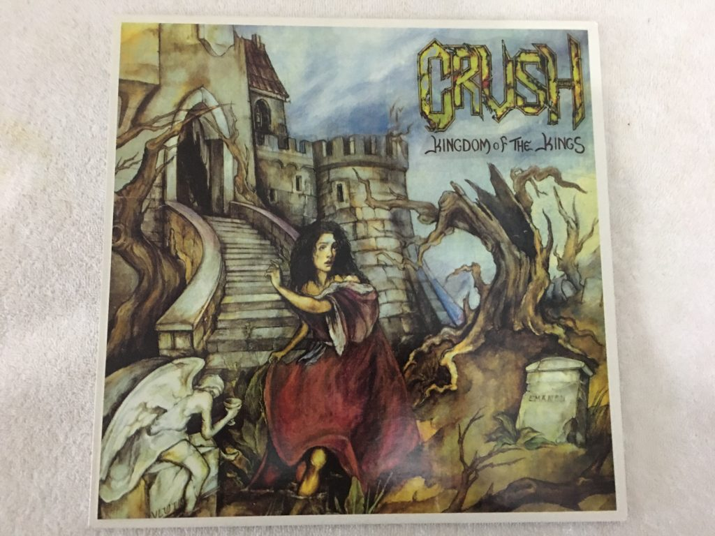 Crush ‎– Kingdom Of The Kings, Vinyl LP, LP No 550, 1993, Greece