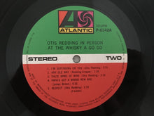 Load image into Gallery viewer, Otis Redding ‎– In Person At The Whisky A Go Go, Japan Press Vinyl LP, Atlantic ‎– P-6142A, 1975, with OBI