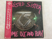 Load image into Gallery viewer, Twisted Sister ‎– Come Out And Play, Japan Press Vinyl LP, Promo Copy, Atlantic ‎– P-13233 1985, with OBI