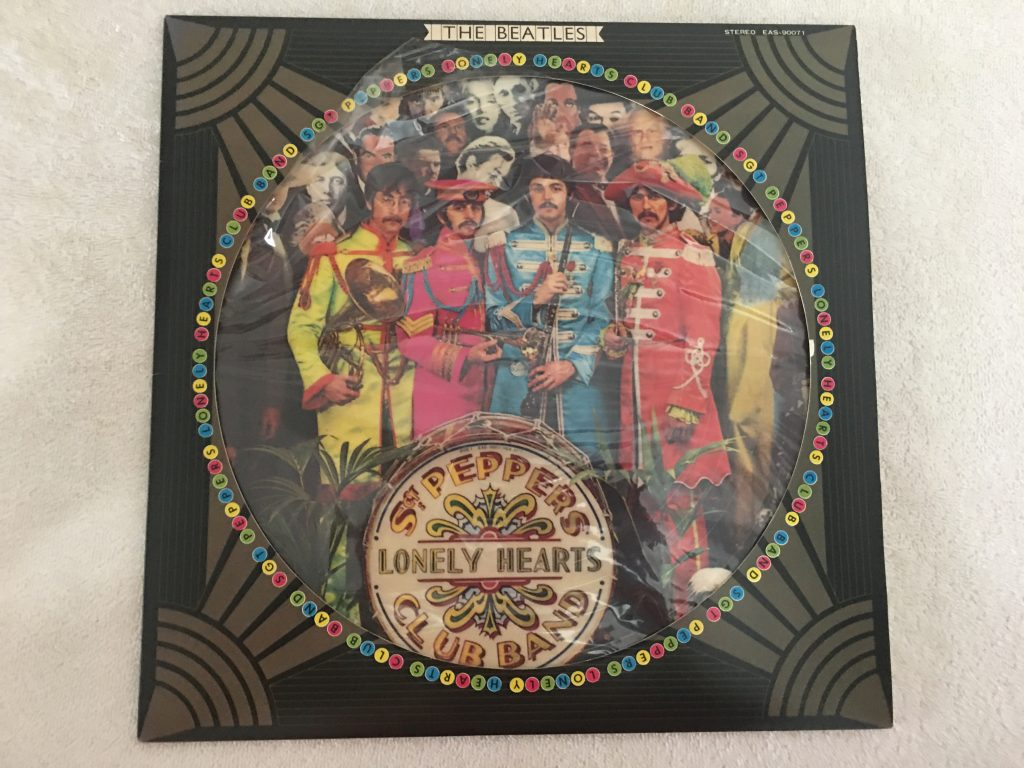 Beatles ‎– Sgt. Pepper's Lonely Hearts Club Band, Japan Press Picture Vinyl LP,Limited Edition, Odeon ‎– EAS-90071, 1978, no OBI