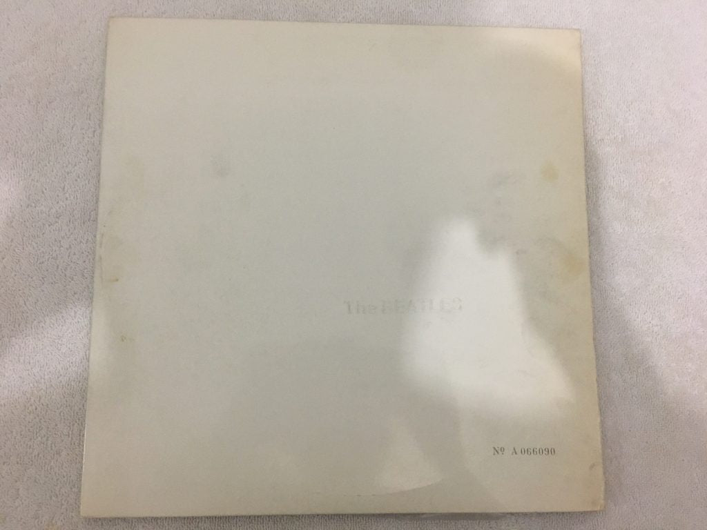 Beatles ‎– The Beatles (White Album), 2x Japan Press Vinyl LP, Limited Edition No. 066090, Apple Records ‎– AP-8570-71, 1972, no OBI