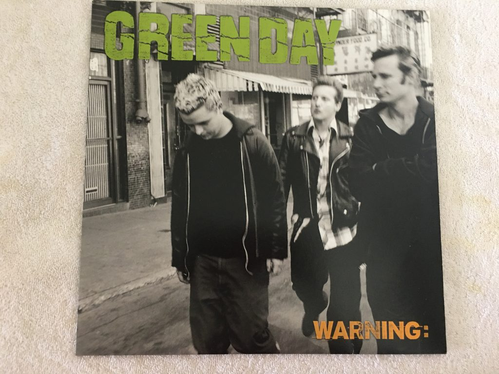 Green Day ‎– Warning:, Green Vinyl LP, Reprise Records ‎– 9362-47613-1, 2000, Germany