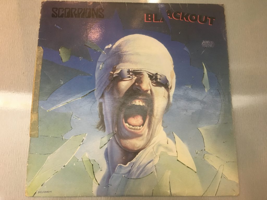 Scorpions ‎– Blackout, Vinyl LP, EMI - EMCS 2042, 1982, Singapore