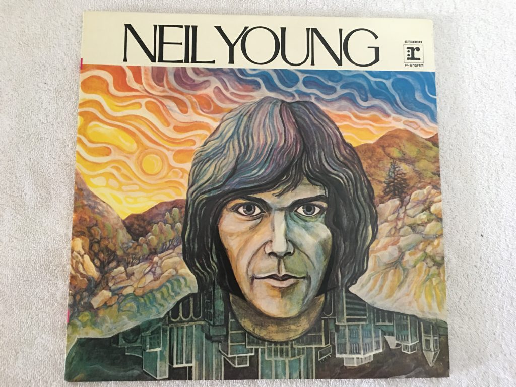 Neil Young ‎– Neil Young, Japan Press Vinyl LP, Reprise Records ‎– P-8121R, 1971, no OBI