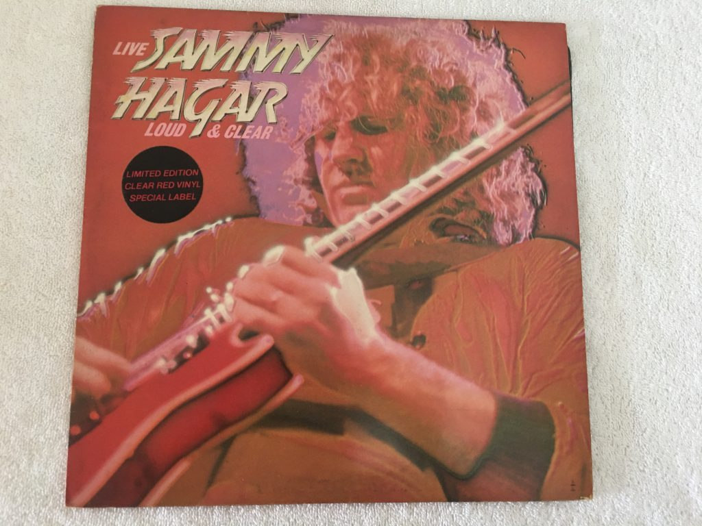 Sammy Hagar ‎– Loud And Clear, Red Vinyl LP, Capitol Records ‎– E-ST 25330, 1979, UK