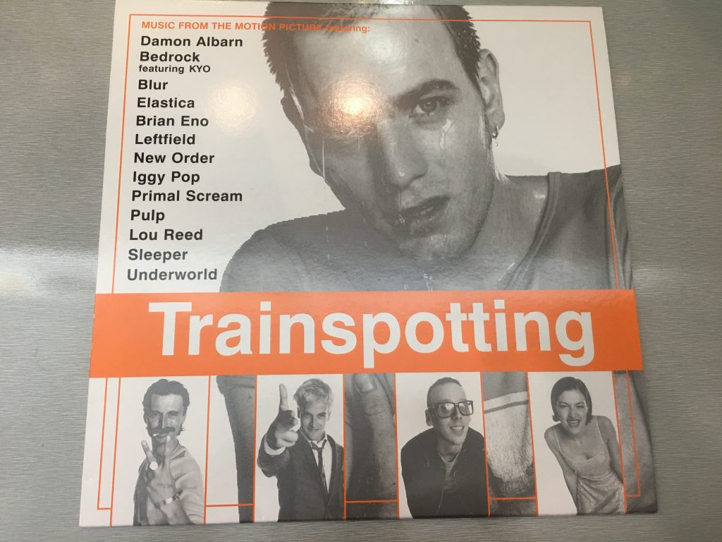 Various ‎– Trainspotting (Music From The Motion Picture), 2x Vinyl LP, EMI ‎– 7243 8 37190 1 3, 1996, UK