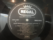 Load image into Gallery viewer, Cliff Richard ‎– Greatest Hits Vol 2, Vinyl LP , Regal ‎– SREG-9714, Singapore
