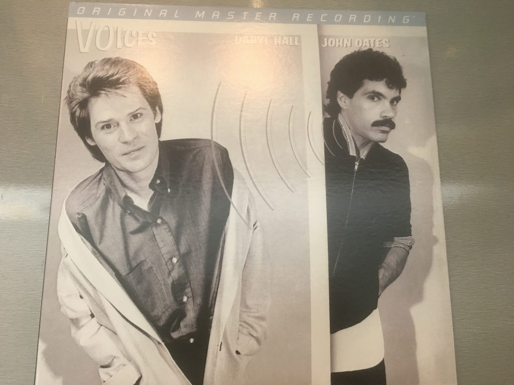 Daryl Hall & John Oates ‎– Voices, Vinyl LP, Limited Edition No. 001161, Mobile Fidelity Sound Lab ‎– MFSL 1-411, 2014, USA