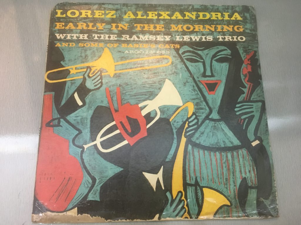 Lorez Alexandria With The Ramsey Lewis Trio ‎– Early In The Morning, Mono Vinyl LP, Argo ‎– LP 663, 1960, USA