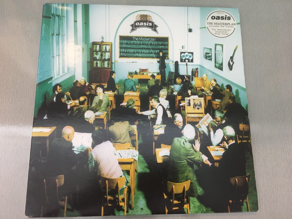 Oasis  ‎– The Masterplan, 2x Vinyl LP, Creation Records ‎– CRELP 241, 1998, UK