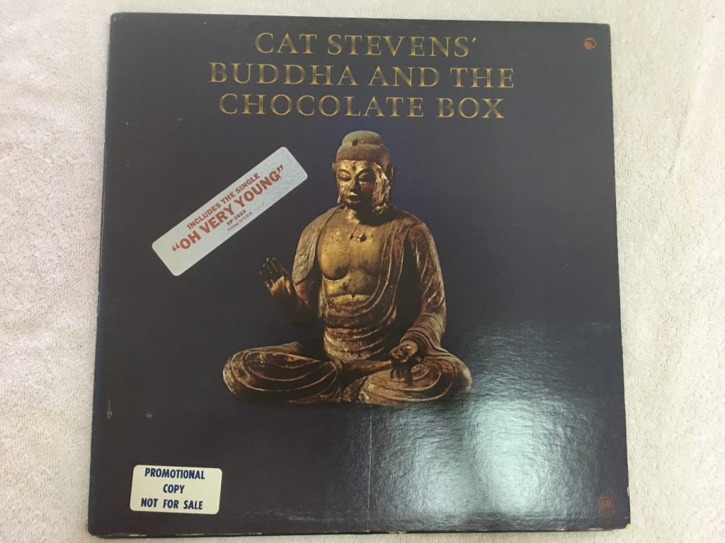 Cat Stevens ‎– Buddha And The Chocolate Box, Vinyl LP, Promo Copy,  A&M Records ‎– SP 3623, 1974, USA