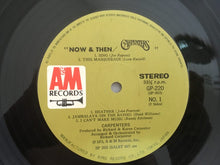 Load image into Gallery viewer, Carpenters ‎– Now & Then, Japan Press Vinyl LP, A&M Records ‎– GP-220, 1973, no OBI