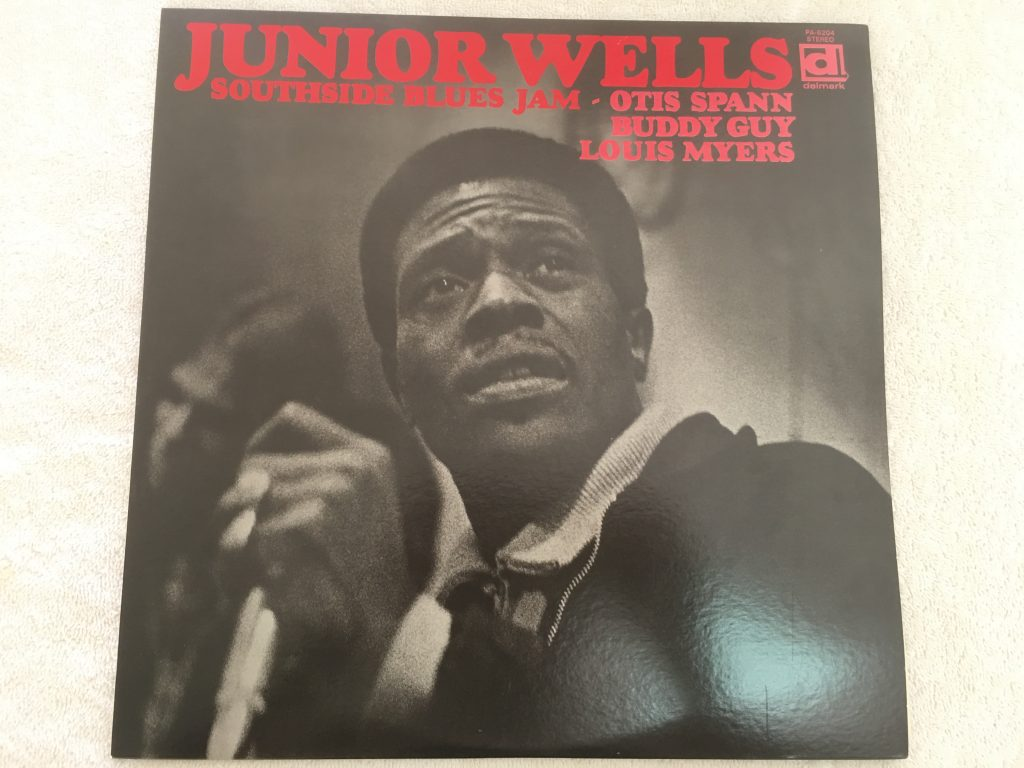 Junior Wells ‎– Southside Blues Jam, Japan Press Vinyl LP,  Delmark Records ‎– PA-6204, no OBI