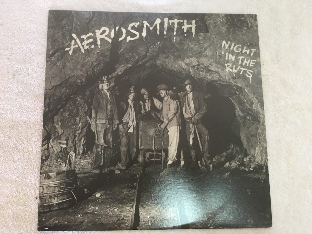 Aerosmith ‎– Night In The Ruts, Vinyl LP, Columbia ‎– FC 36050, 1979, USA
