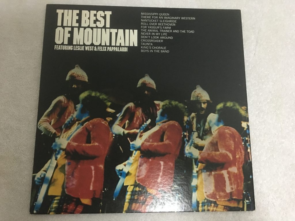 Mountain ‎– The Best Of Mountain, Japan Press Vinyl LP, Windfall Records ‎– BLPM-11-WF, 1973, no OBI