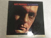 Load image into Gallery viewer, Art Pepper ‎– Intensity, Mono Vinyl LP, Contemporary Records ‎– LAC 553, 1963, UK