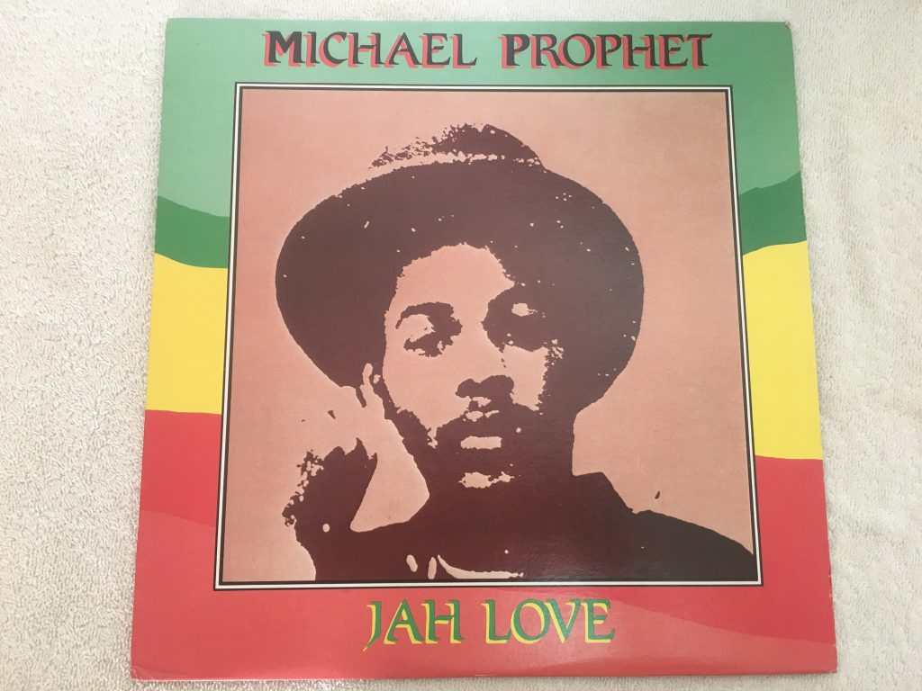 Michael Prophet ‎– Jah Love, Vinyl LP, Live & Learn Records ‎– LL LP 004, USA