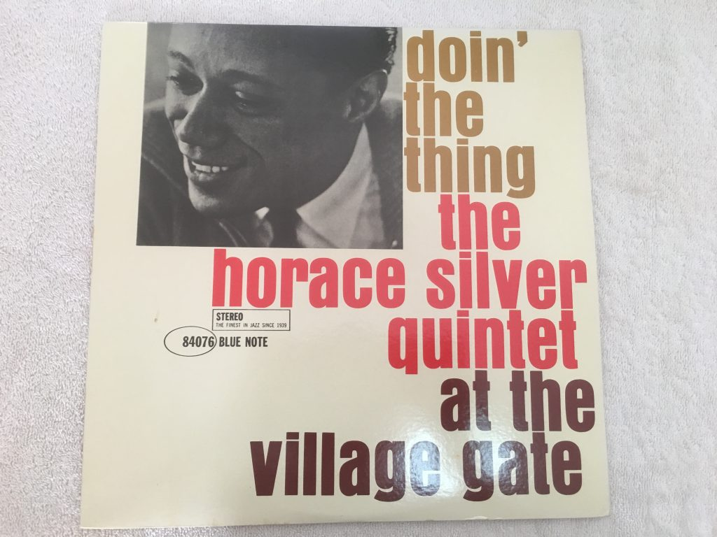 Horace Silver Quintet ‎– Doin' The Thing - At The Village Gate, Japan Press Vinyl LP, Blue Note ‎– BNJ 71008, 1983, no OBI