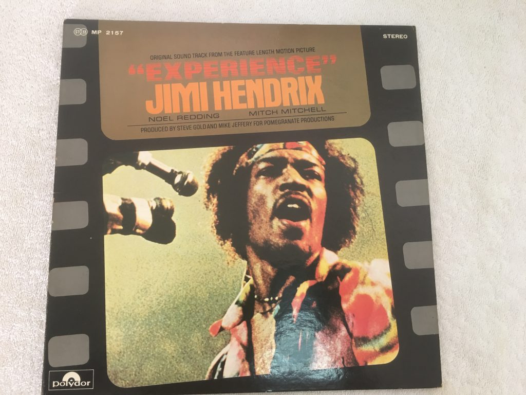 Jimi Hendrix ‎– Original Sound Track Of The Motion Picture