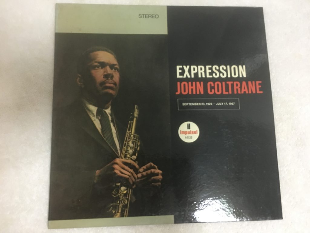 John Coltrane ‎– Expression, Vinyl LP, Impulse! ‎– A-9120, 1967, USA
