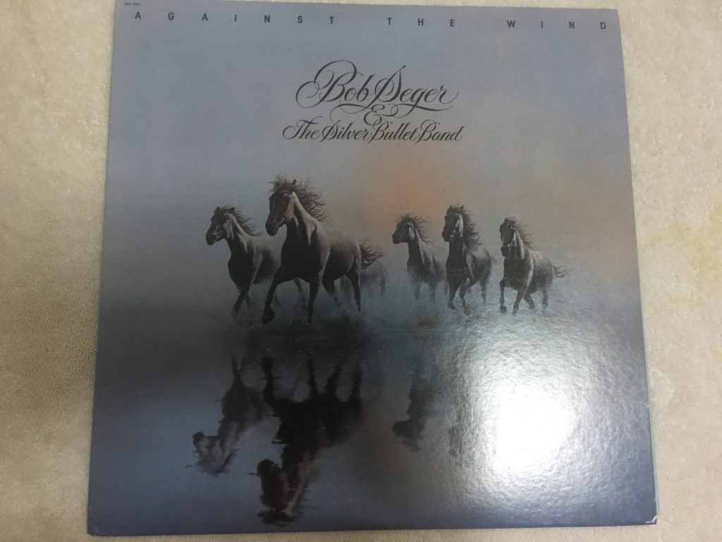 Bob Seger & The Silver Bullet Band ‎– Against The Wind, Vinyl LP, Capitol Records ‎– SOO-12041, 1980, USA