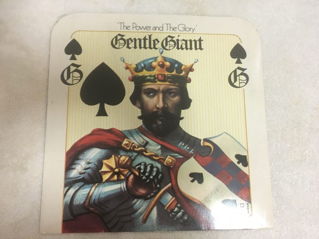 Gentle Giant ‎– The Power And The Glory, Vinyl LP, WWA Records ‎– WWA 010, 1974, UK