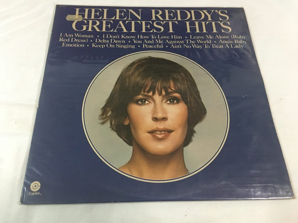 Helen Reddy, Helen Reddy's Greatest Hits, Vinyl LP, Capitol Records ‎– ST-11467, 1975, USA