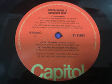 Load image into Gallery viewer, Helen Reddy, Helen Reddy's Greatest Hits, Vinyl LP, Capitol Records ‎– ST-11467, 1975, USA