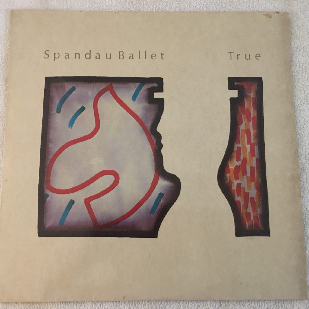 Spandau Ballet ‎– True, Vinyl LP, Chrysalis ‎– CDL 1403, 1983, UK