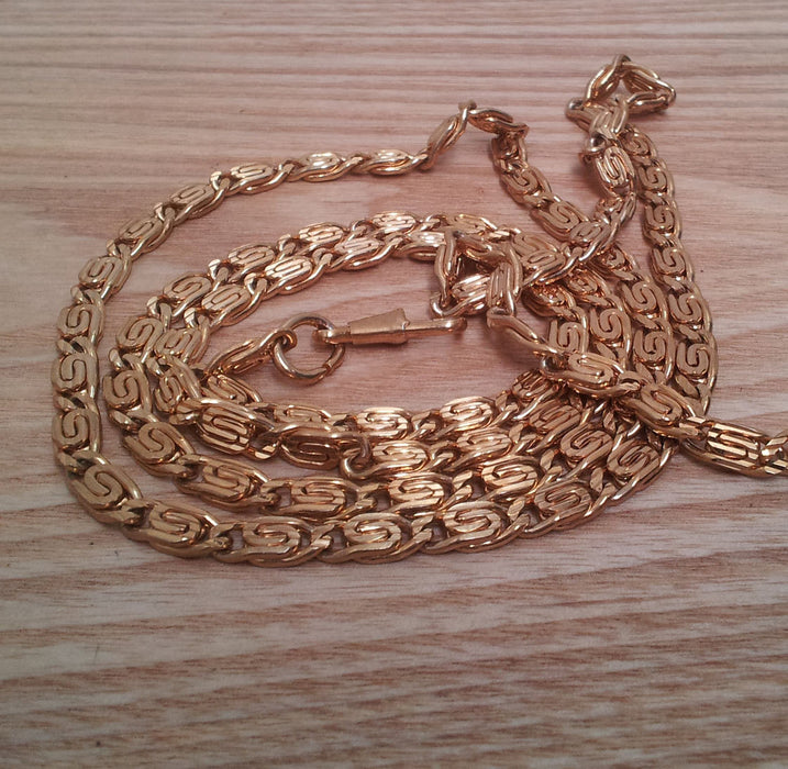 1 x Gold Chain Bag Handle