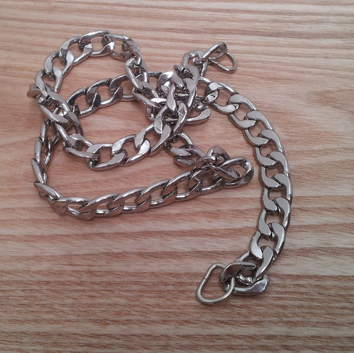1 x Silver Chain Bag Handle