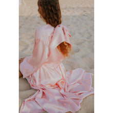 Load image into Gallery viewer, Pink Midi Classic Kimono