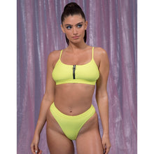 Load image into Gallery viewer, LUNA Bottom ~ Neon Yellow
