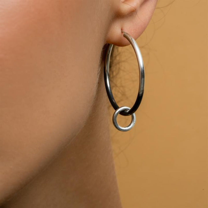 Agili Silver Earrings