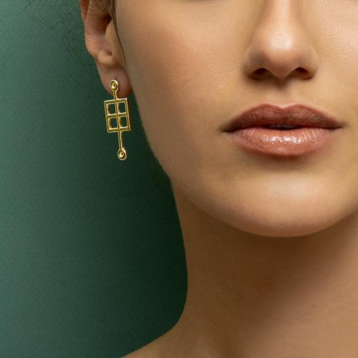 Pau Golden Earrings