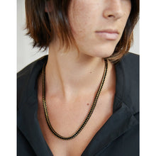 Load image into Gallery viewer, bleck TRIGO   necklace