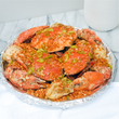 Loaded Garlic Crabs
