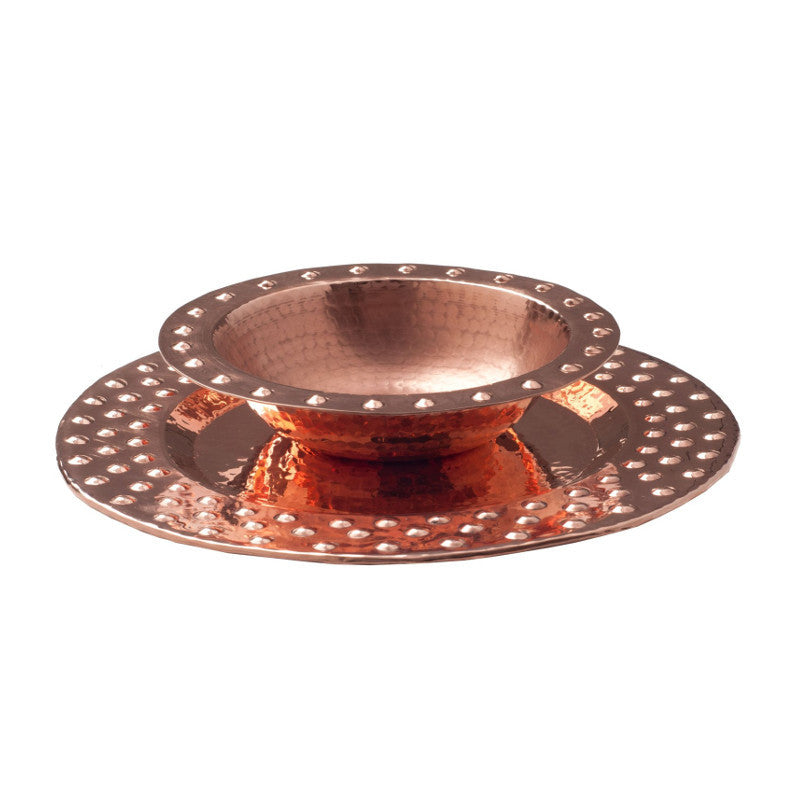 Oblation Plate And Bowl Set