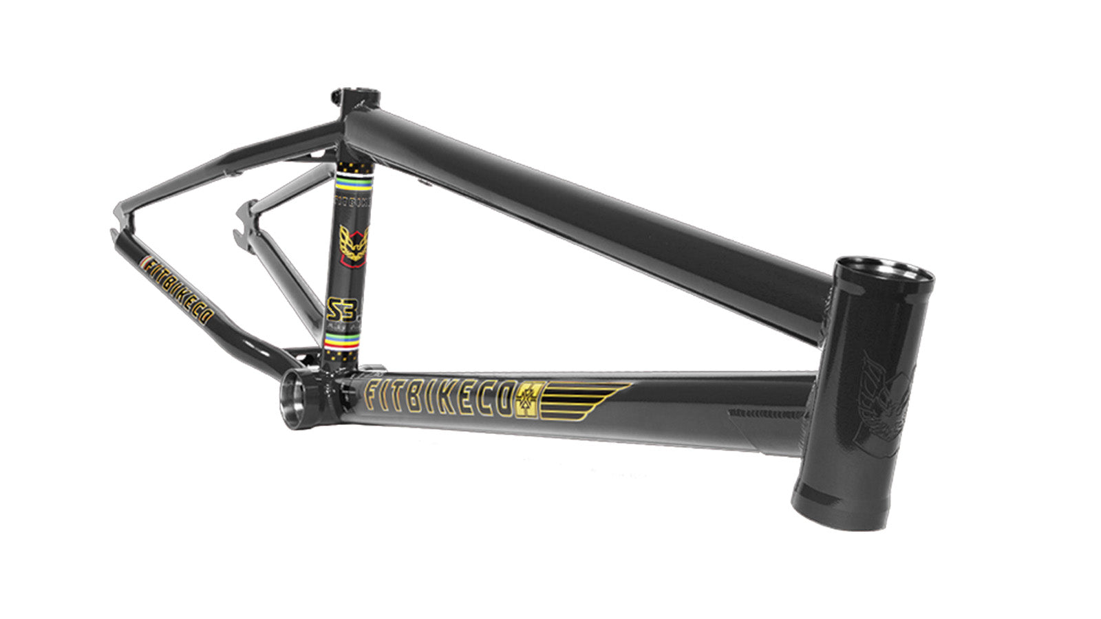"FIT S3.5 Frame 21.25"" Black"