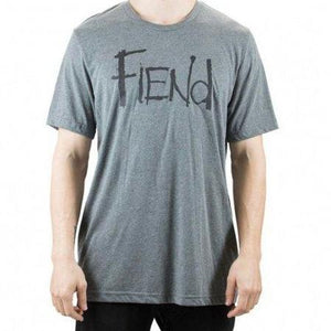 Fiend Logo T-Shirt - Grey
