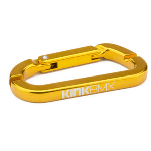 Kink Bmx Carabiner spoke wrench Gold