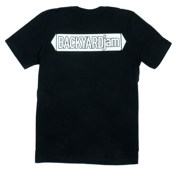 Backyard Jam Logo T-Shirt - Black