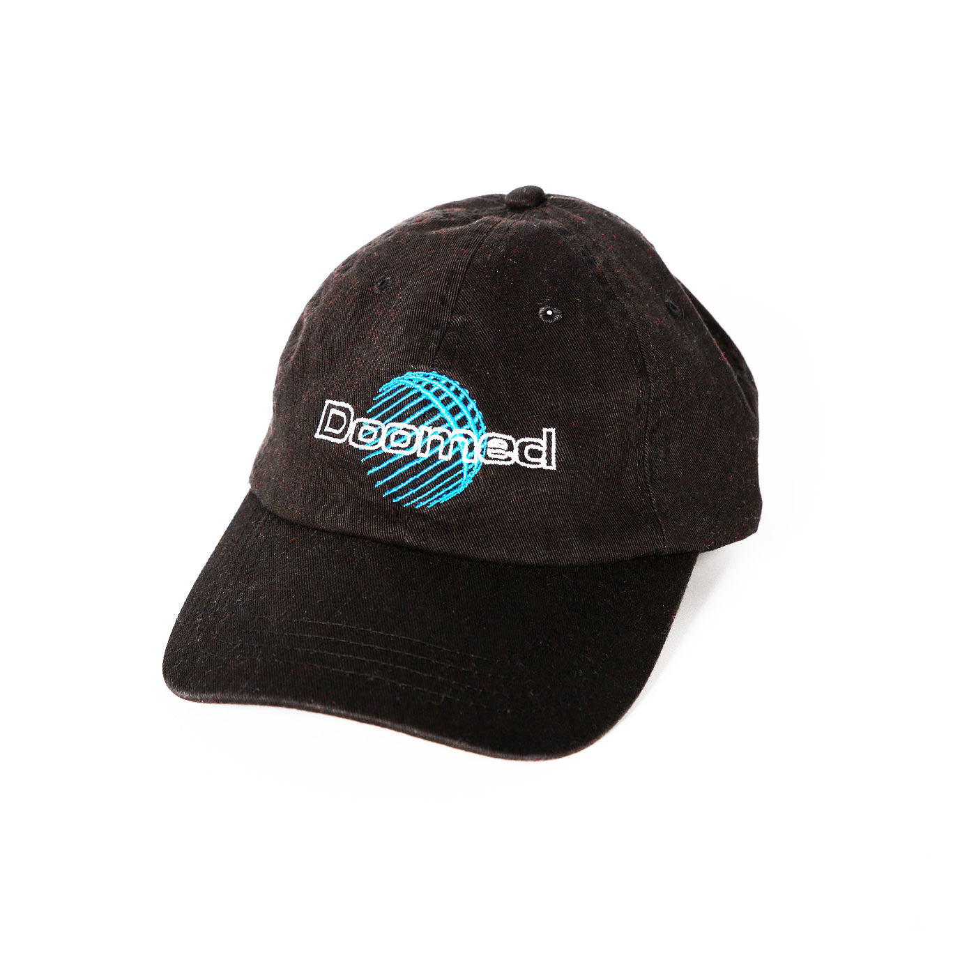 Doomed World Famous Dad Cap Black