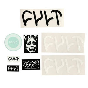 Cult Sticker Pack - 8pcs