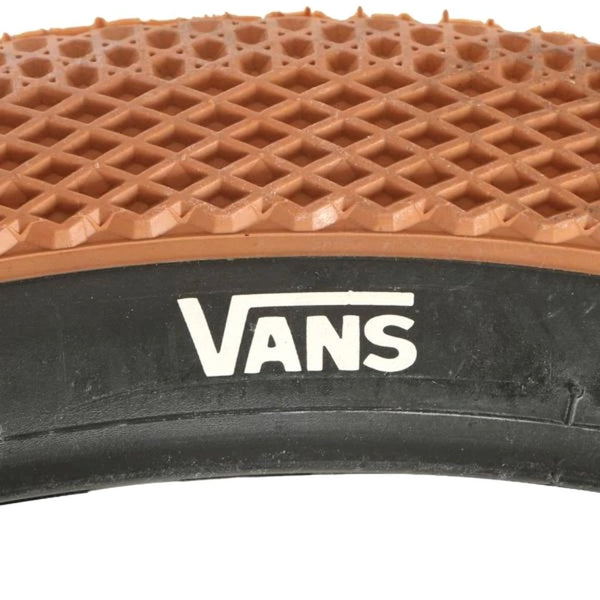 "Cult 12"" Vans Tyre - Classic Gum With Black Sidewall 2.20"""